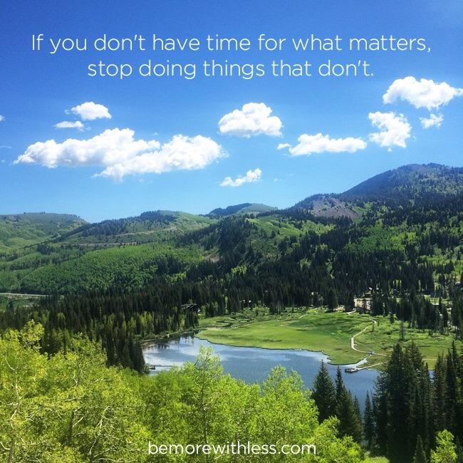 Se non hai tempo