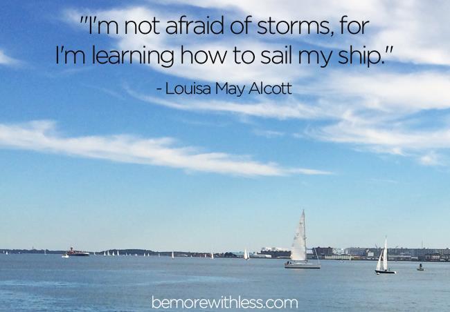 Non ho paura delle tempeste