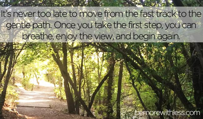Scegli la corsia più lenta