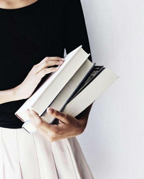 non potersi separare dai libri