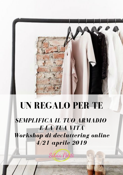 Regala un workshop di decluttering:4