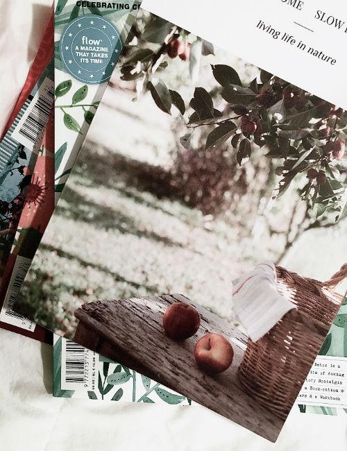 decluttering giornali e riviste